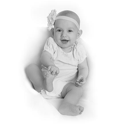 Babyfotografering hos Birgit Skou Fotografering i Aarhus Viby