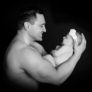 Baby Fotografering i Aarhus Viby hos Birgit Skou Fotografi