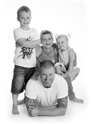 Familie Fotografering i Aarhus Viby hos Birgit Skou Fotografi