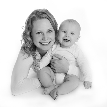 Familieportræt Fotograf i Aarhus Viby Børne portræt Baby portræt