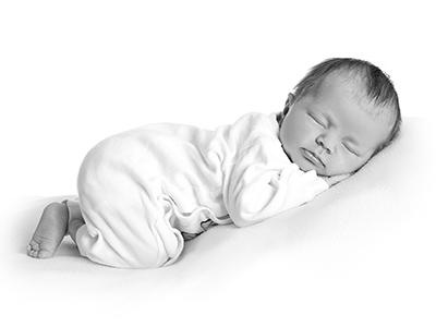 Newborn fotografering hos Birgit Skou Fotografi i Aarhus Viby