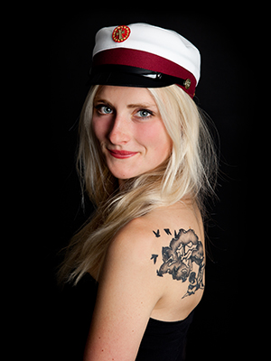 Studenter Fotografering Aarhus Viby hos Birgit Skou Fotografi