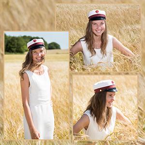Studenter portræt - Fotograf i Aarhus Viby  Birgit Skou Fotografi