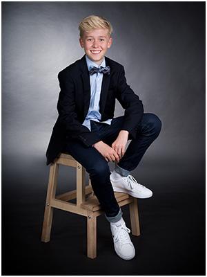 Konfirmand Fotografering Portræt i Aarhus Viby hos Birgit Skou Fotografi