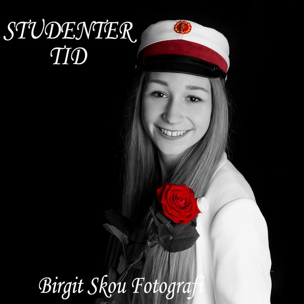 Student Portræt Fotograf Aarhus Viby Birgit Skou Fotografi